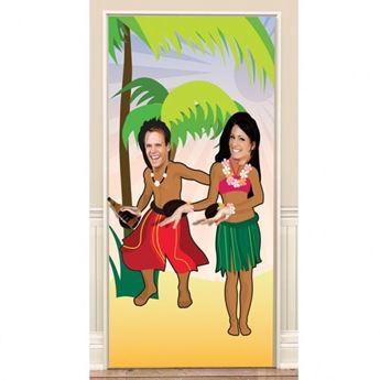 Imagen de Photocall póster Hawaiano puerta