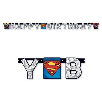 Imagens de Guirnalda Happy Birthday Superman (2,3m)