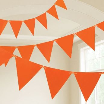 Imagen de Banderín Naranja plástico (10m)