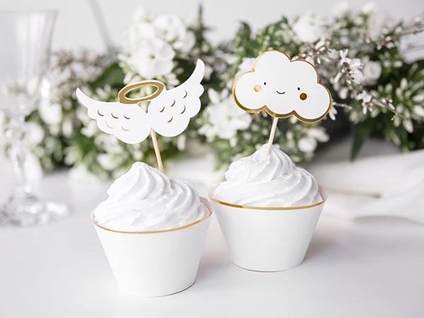Imagens de Topper Cupcake nubes