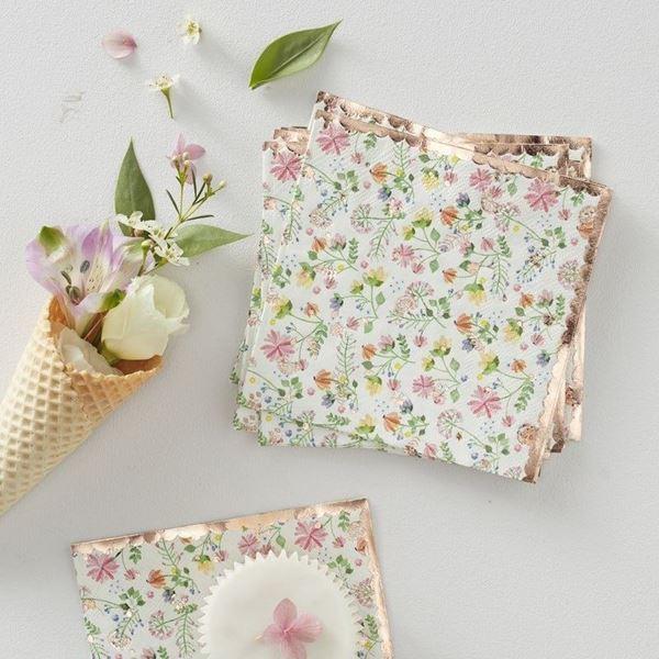 Imagen de Servilletas primavera floral (16)