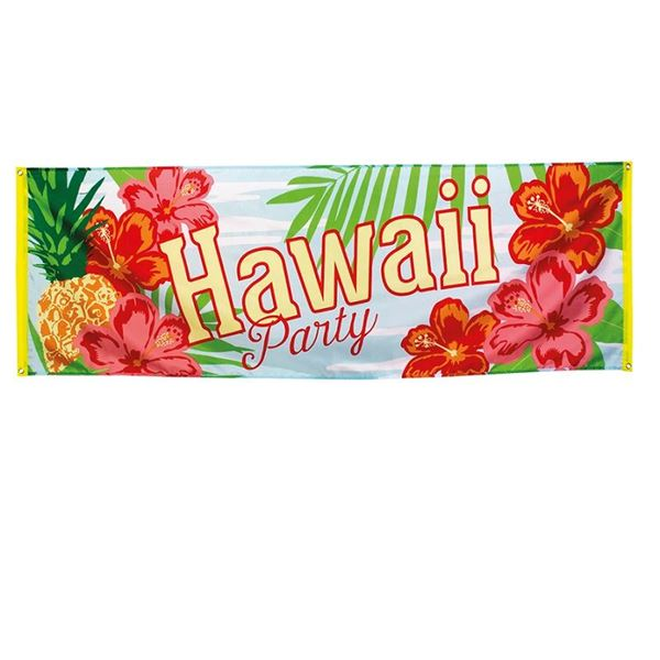 Picture of Banner Hawaii Party Grande (74cm x 220cm)