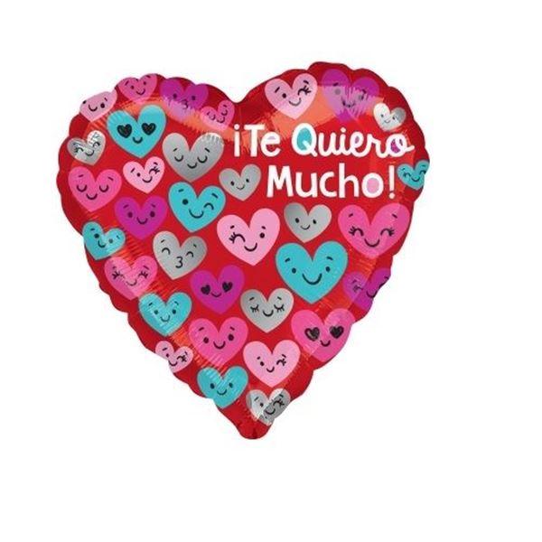 Imagen de Globo Te quiero Mucho corazones