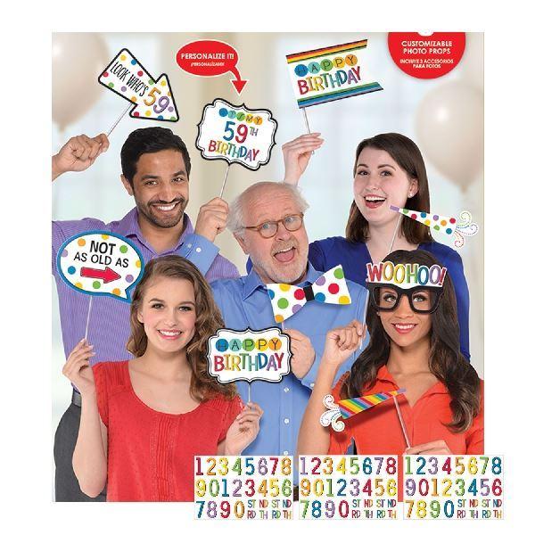 Imagens de Accesorios photocall personalizables edad