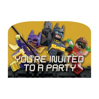 Picture of Invitaciones Lego Batman (8)