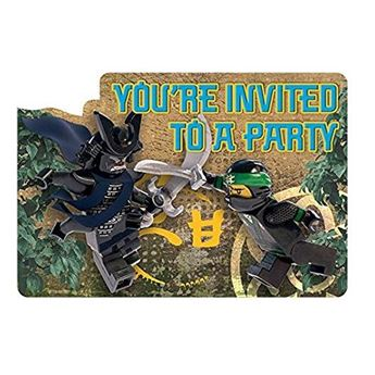 Picture of Invitaciones LEGO Ninjago