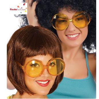 Imagens de Gafas grandes redondas