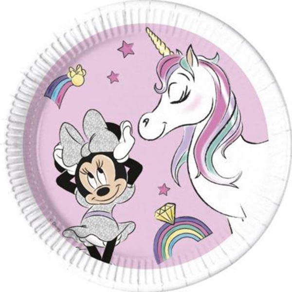 Imagen de Platos Minnie y Unicornio (8)