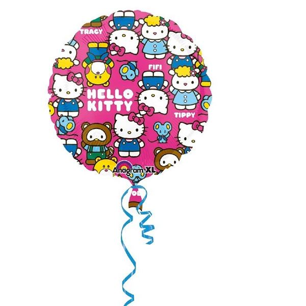 Picture of Globo Hello Kitty colores