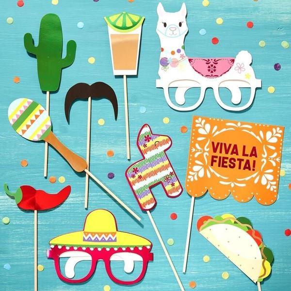 Imagens de Accesorios photocall Viva la fiesta (10)