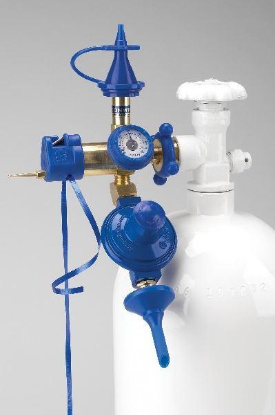 Imagens de Regulador Precisión Plus para Botella Helio