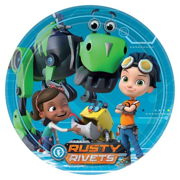 Picture of Platos Rusty Rivets grandes (8)