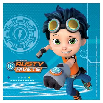 Picture of Servilletas Rusty Rivets (16)