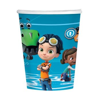 Picture of Vasos Rusty Rivets cartón (8)