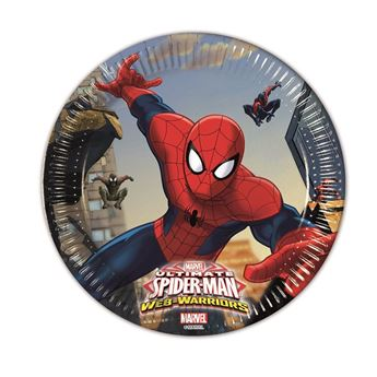 Picture of Platos Spiderman Warrior pequeños (8)