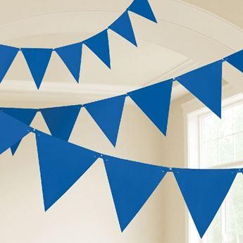 Imagen de Banderín azul marino plástico (10m)