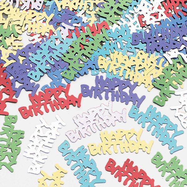 Imagens de Confeti Multicolor Happy Birthday (14gr)