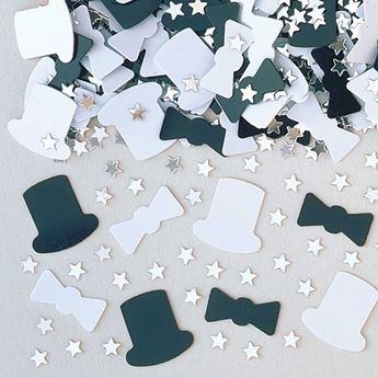 Imagen de Confeti Sombreros y Pajaritas celebración(14g)