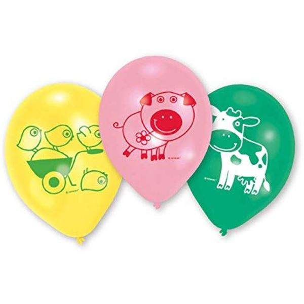 Picture of Globos Mi granja de animales (6)