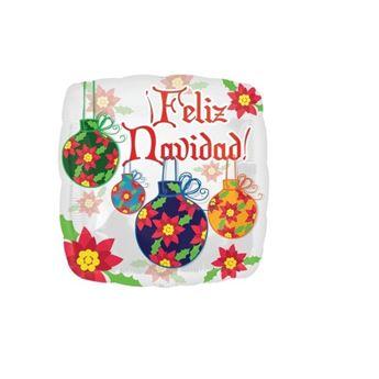 Imagen de Globo Feliz Navidad Tradicional