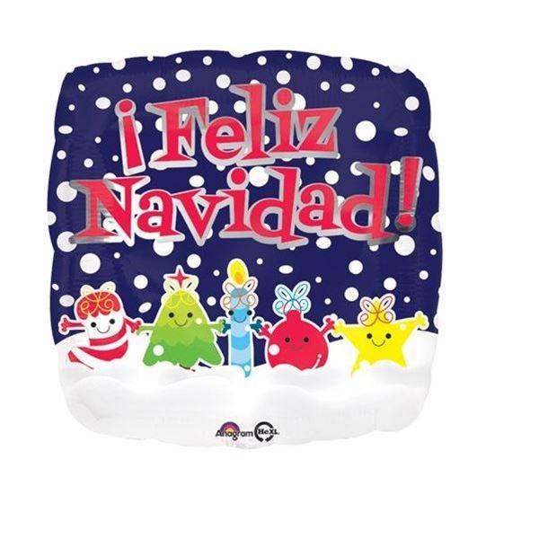 Imagen de Globo Feliz Navidad Amigos