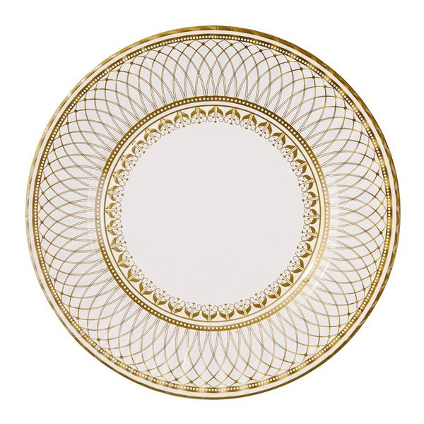Picture of Platos elegante oro grandes (8)