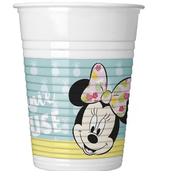 Picture of Vasos Minnie Mouse Tropical (8)