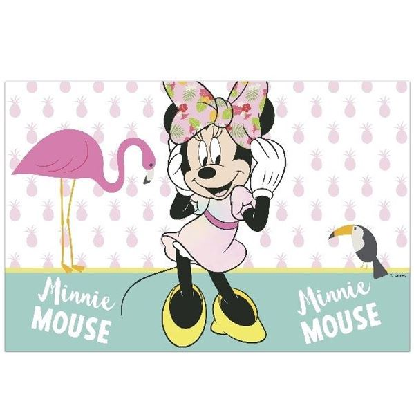 Imagen de Mantel Minnie Mouse Tropical