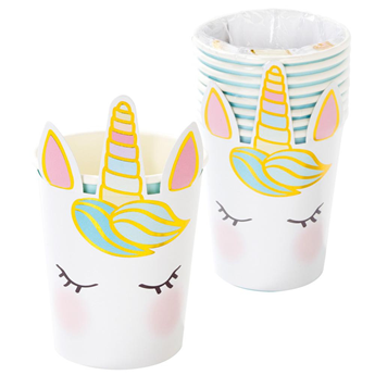 Picture of Vasos Unicornio Cara feliz (8)