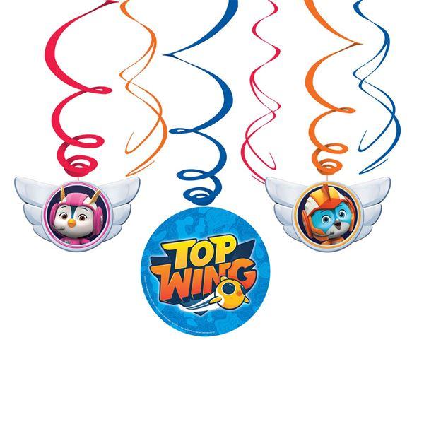 Imagen de Decorados espirales Top Wing (6)