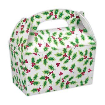 Imagens de Cajas Navidad Hojas Acebo (5)
