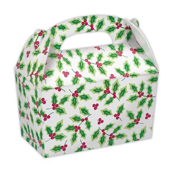 Picture of Cajas Navidad Hojas Acebo (5)