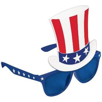 Imagen de Gafas sombrero USA