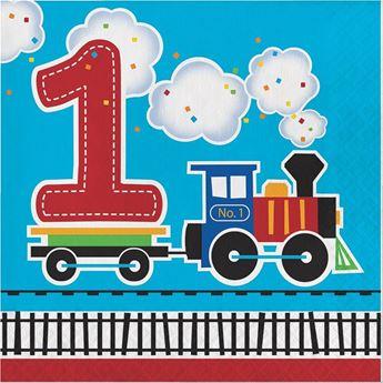 Imagen de Servilletas tren 1 cumpleaños (16)