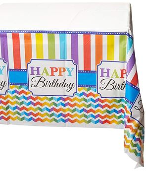 Picture of Mantel Happy Birthday colores