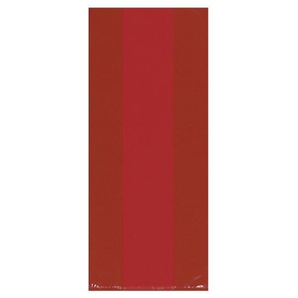 Imagen de Bolsas celofán rojas grandes (25)