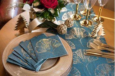 Picture for category Navidad hojas doradas