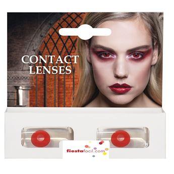 Imagens de Lentillas de contacto rojas