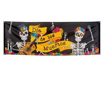 Picture of Banner tela Día de los Muertos