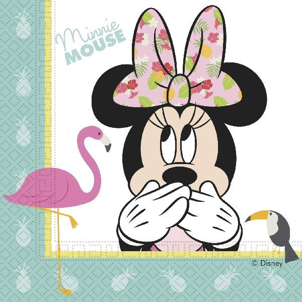 Picture of Servilletas Minnie Mouse Tropical (20)