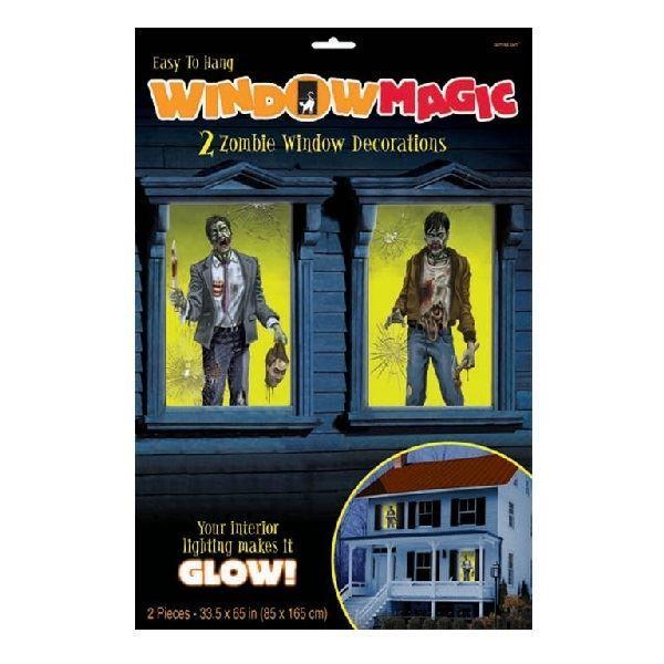 Imagen de Decoración ventanas zombies (2)
