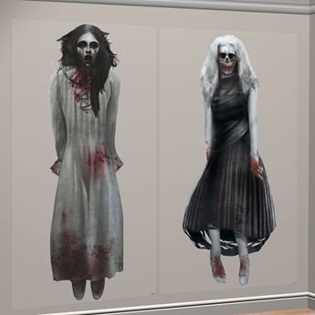 Imagen de Decorados Escena pared Mujer fantasma (2)