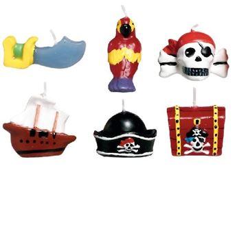 Picture of Velas Piratas del tesoro (6)