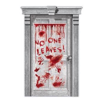 Imagen de Decorado puerta Sangrienta Halloween
