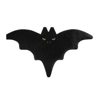 Imagen de Servilletas Forma Murciélago Halloween (20)