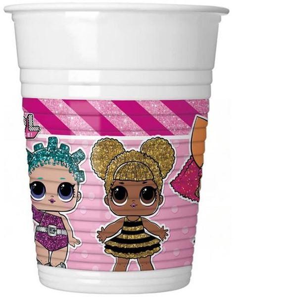 Imagen de Vasos LOL Surprise plástico (8)