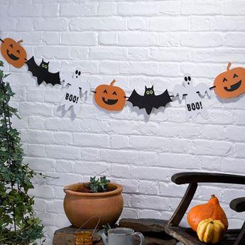 Imagen de Guirnalda Happy Halloween surtida