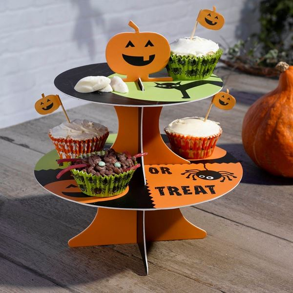 Picture of Stand Cupcakes Happy Halloween