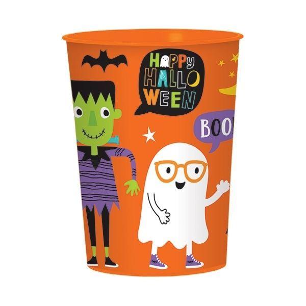 Imagens de Vaso infantil Halloween plástico duro