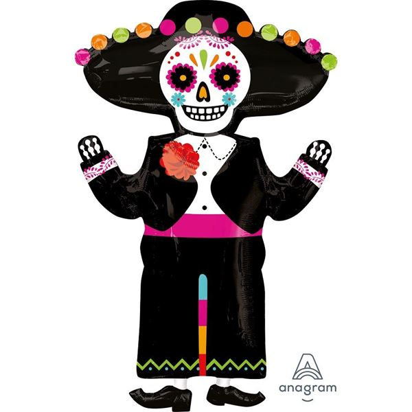 Picture of Globo Esqueleto Día de los Muertos